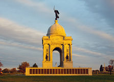 Monumento de Pensilvânia em Gettysburg Fotografia de Stock