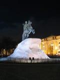 Monumento de Peter o grande. Foto de Stock Royalty Free