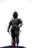Monumento de Phraya Phichai Dap Hak (Phraya Phichai de la espada quebrada) Imagen de archivo