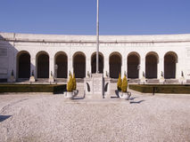 Monumento de Piave WW1, Italia Fotografía de archivo libre de regalías