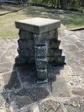 Monumento de piedra interesante imagen de archivo libre de regalías