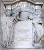 Monumento de príncipe Agostino Chigi Foto de archivo libre de regalías