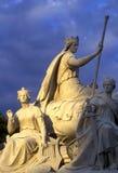 Monumento de príncipe Albert Fotos de archivo libres de regalías