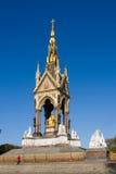 Monumento de príncipe Albert en Hyde Park Imagenes de archivo