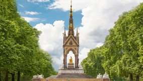 Monumento de príncipe Albert, Hyde Park Londres metrajes