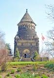 Monumento de presidente James A Garfield Fotografía de archivo