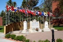 Monumento de RCMP Foto de archivo libre de regalías