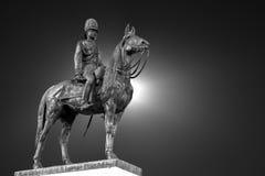 Monumento de rey Rama Five, Tailandia Imagen de archivo libre de regalías