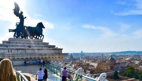 Monumento de Roma fotografia de stock