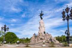 Monumento de Russalka, Tallinn, Estonia imagen de archivo libre de regalías