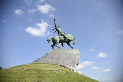 Monumento de Salavat Yulaev Foto de Stock