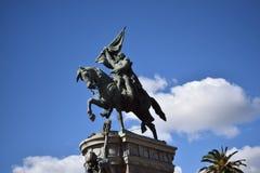 Monumento de San Martin fotos de archivo