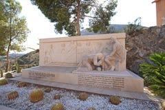 Monumento de Santa Maria Magdalena em Novelda imagem de stock