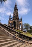 Monumento de Scott, Edimburgo Foto de archivo