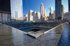 Monumento de sept. del 11 de NYC Fotografía de archivo libre de regalías