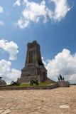 Monumento de Shipka Fotos de archivo libres de regalías