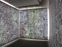 Monumento de Shoah en París 7966, Francia, 2012 Fotografía de archivo