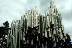 Monumento de Sibelius, Helsinki Fotografía de archivo