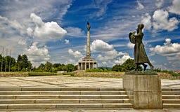 Monumento de Slavin Fotografía de archivo libre de regalías