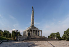 Monumento de Slavin Imagen de archivo libre de regalías