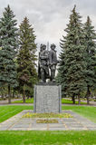 Monumento de soldados soviéticos Foto de archivo