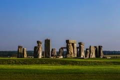 Monumento de Stonehenge em planos de Salisbúria foto de stock royalty free