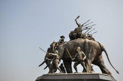 Monumento de Suriyothai Fotos de archivo