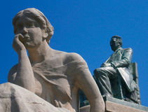 Monumento de t Hoff de Van ', Rotterdam Fotografía de archivo libre de regalías