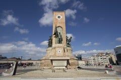 Monumento de Taksim Imagen de archivo libre de regalías