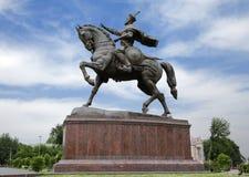 Monumento de Tamerlane em Tashkent Fotografia de Stock Royalty Free