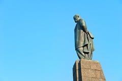 Monumento de Taras Shevchenko em Kaniv Fotos de Stock Royalty Free