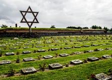 Monumento de Terezin Cementery judío imágenes de archivo libres de regalías