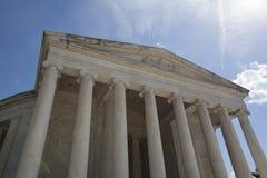 Monumento de Thomas Jefferson Fotografía de archivo