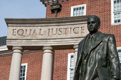 Monumento de Thurgood Marshall, Annapolis, DM imagens de stock