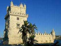 Monumento de Torre de Belém, Lisboa Fotografía de archivo