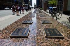 Monumento de 100 trabalhadores Fotos de Stock