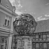 Monumento de Tycho Brahe Foto de Stock Royalty Free