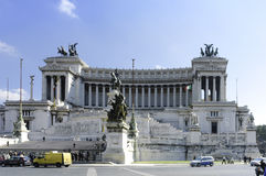 Monumento de Victor Emmanuel II fotografia de stock