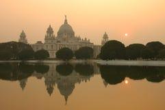 Monumento de Victoria, Kolkata Imagem de Stock