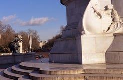 Monumento de Victoria, Londres Imagen de archivo