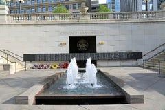 Monumento de Vietnam en Chicago Fotos de archivo