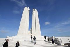 Monumento de Vimy en Francia Fotos de archivo libres de regalías