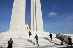 Monumento de Vimy en Francia Imágenes de archivo libres de regalías