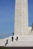 Monumento de Vimy en Francia Fotografía de archivo