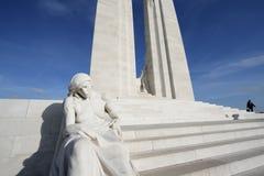 Monumento de Vimy en Francia Fotos de archivo
