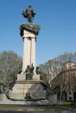 Monumento de Vittorio Emanuele II, Turin, Itália Fotografia de Stock Royalty Free