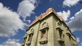 Monumento de Vivekananda del Swami-- Mandapam, Kanyakumari, Tamilnadu, la India metrajes