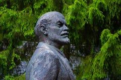 Monumento de Vladimir Lenin fotografia de stock