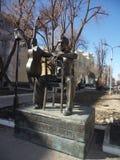 Monumento de Vysotsky Imagen de archivo