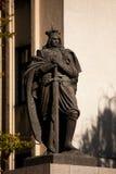 Monumento de Vytautas el grande Imagenes de archivo